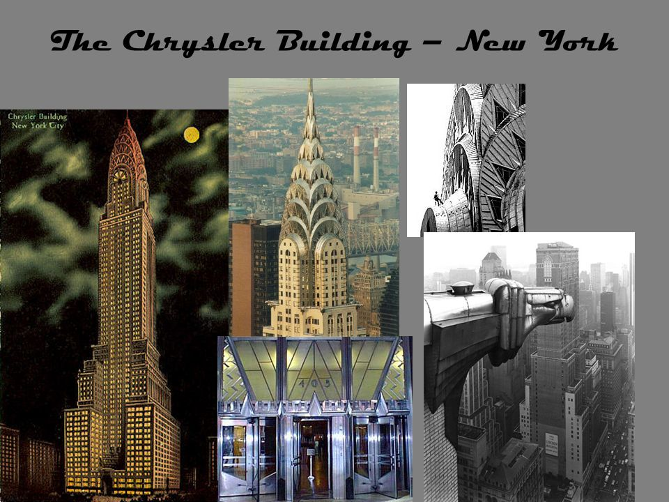 The Chrysler Building – New York