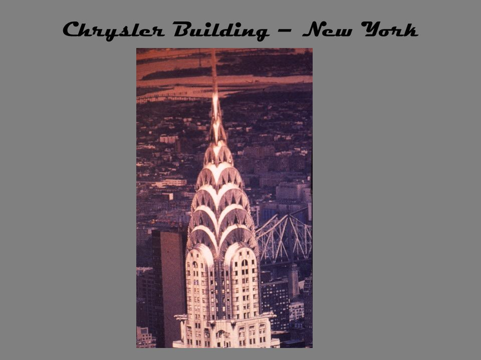 Chrysler Building – New York