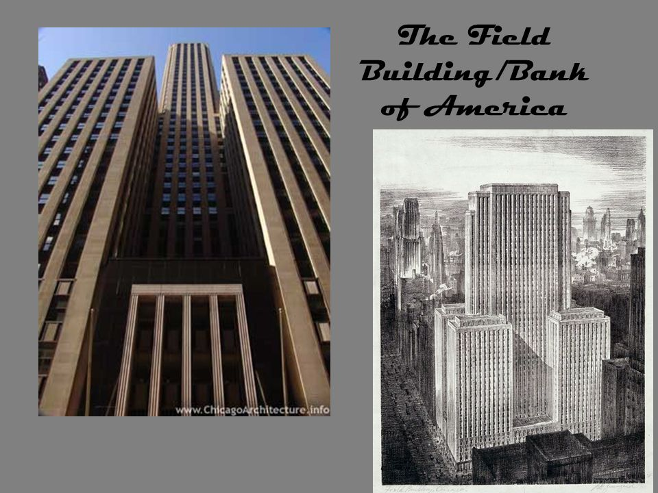 The Field Building/Bank of America