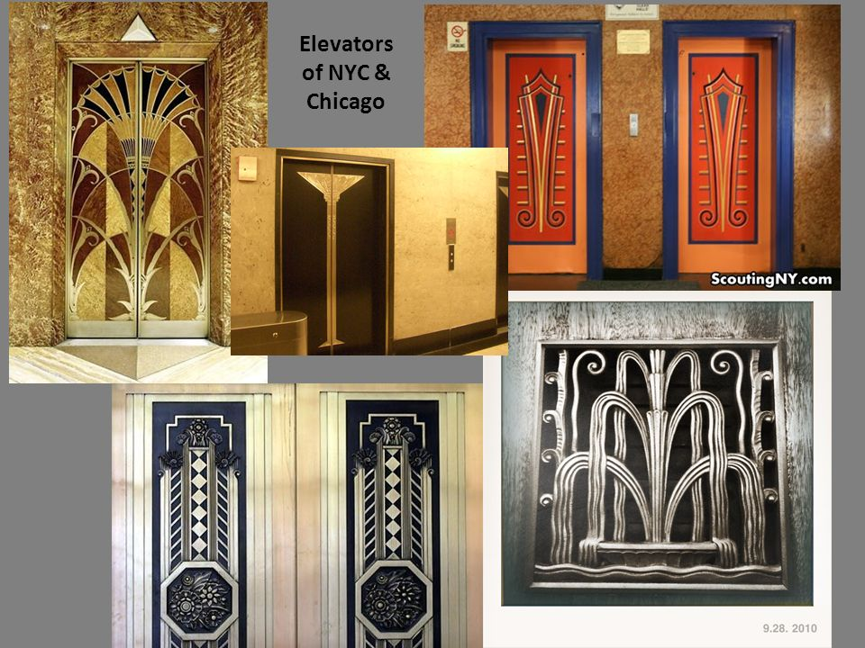 Elevators of NYC & Chicago