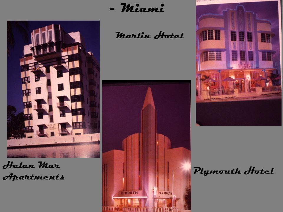 - Miami Marlin Hotel Helen Mar Apartments Plymouth Hotel