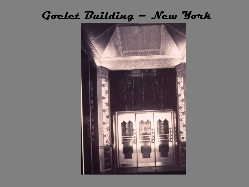 Goelet Building – New York