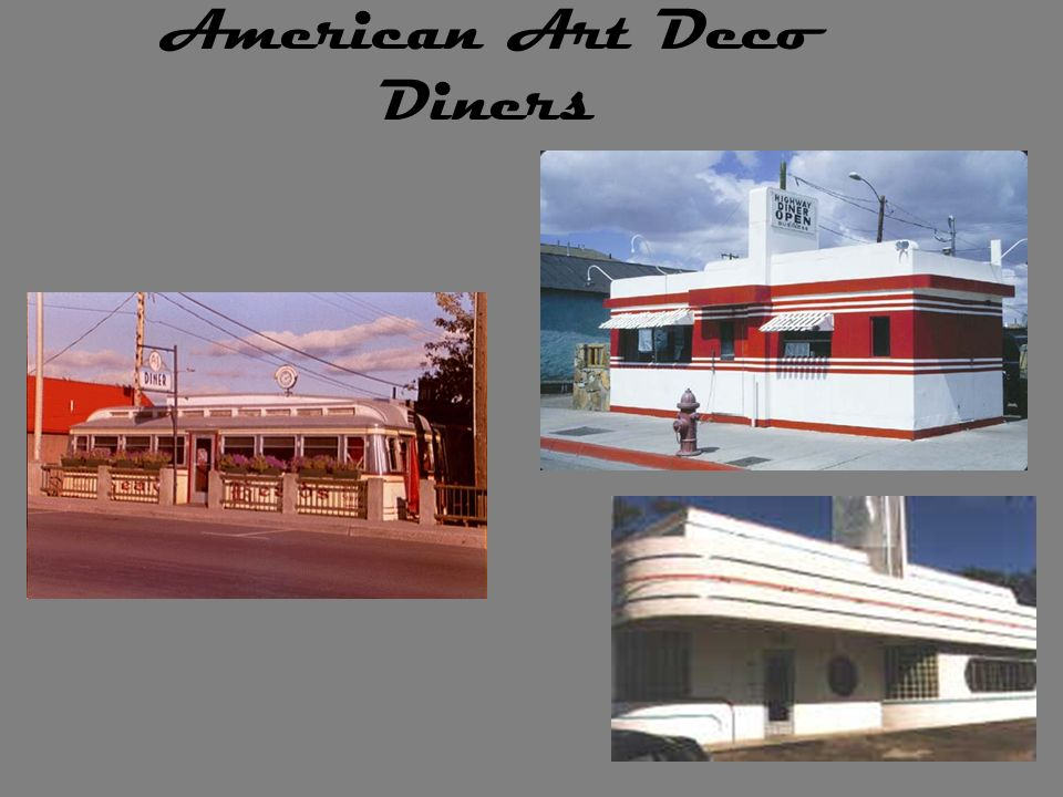 American Art Deco Diners