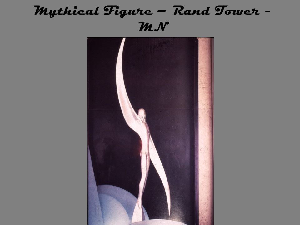 Mythical Figure – Rand Tower - MN