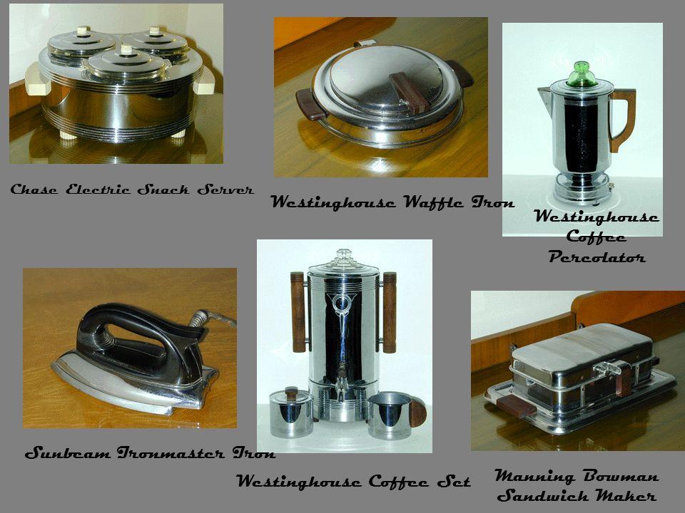 Westinghouse Waffle Iron Westinghouse Coffee Percolator