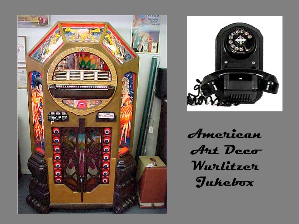 American Art Deco Wurlitzer Jukebox