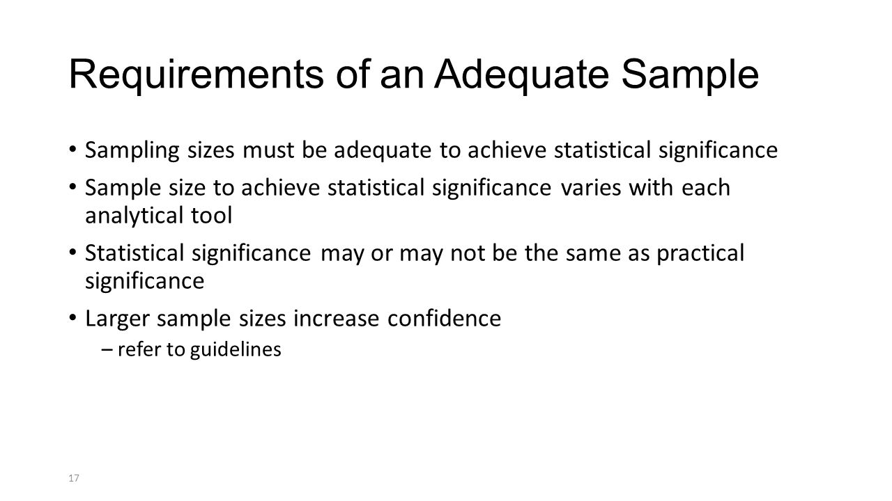 Data Collection and Sample Size Considerations - ppt download