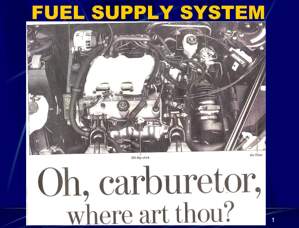 FUEL SUPPLY SYSTEM