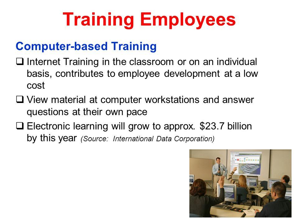 Training Employees Computer-based Training