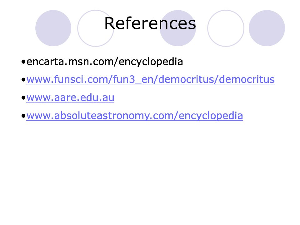 References encarta.msn.com/encyclopedia