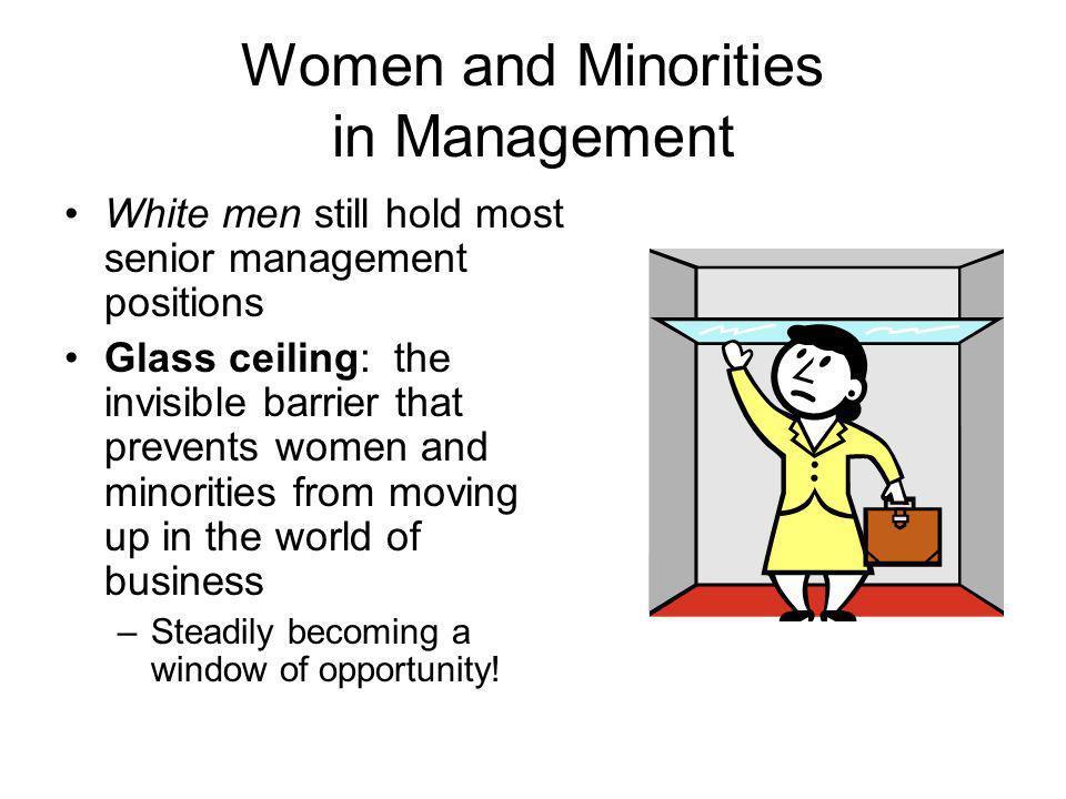 Women and Minorities in Management
