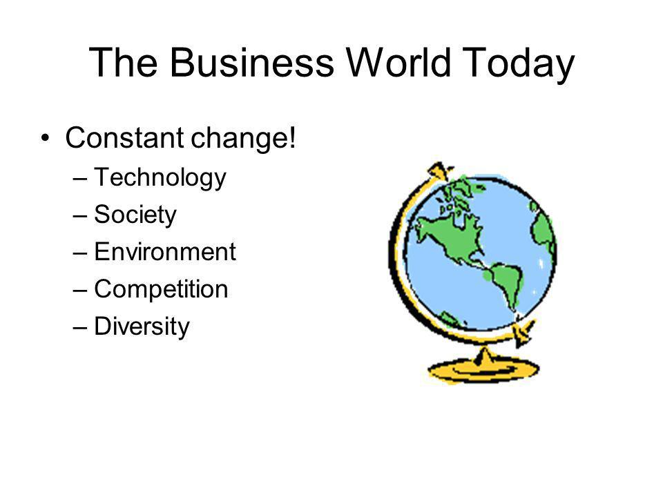The Business World Today