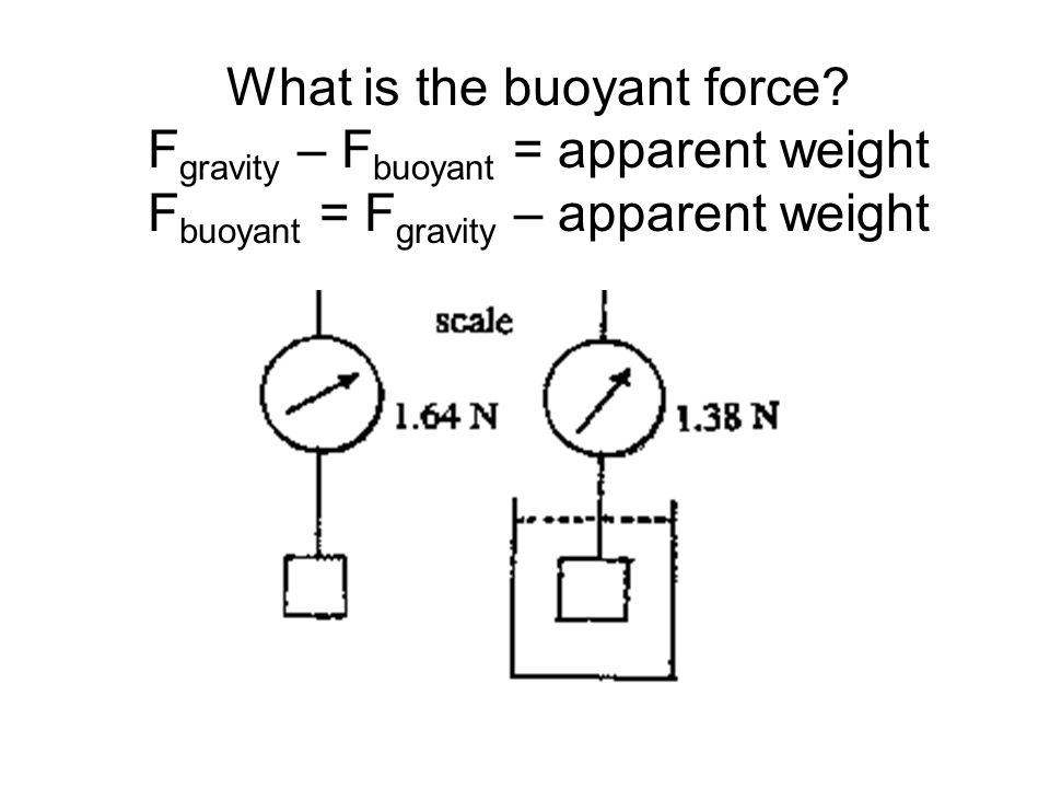 What is the buoyant force