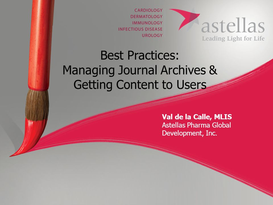 Best Practices: Managing Journal Archives & Getting Content to Users