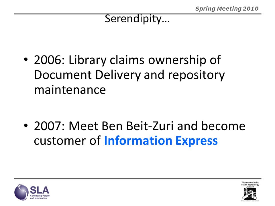 2007: Meet Ben Beit-Zuri and become customer of Information Express