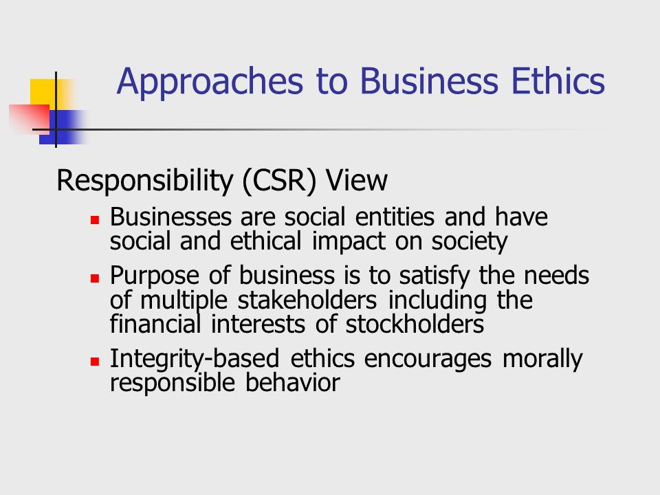 Definitions: CSR (Corporate Social Responsibility)