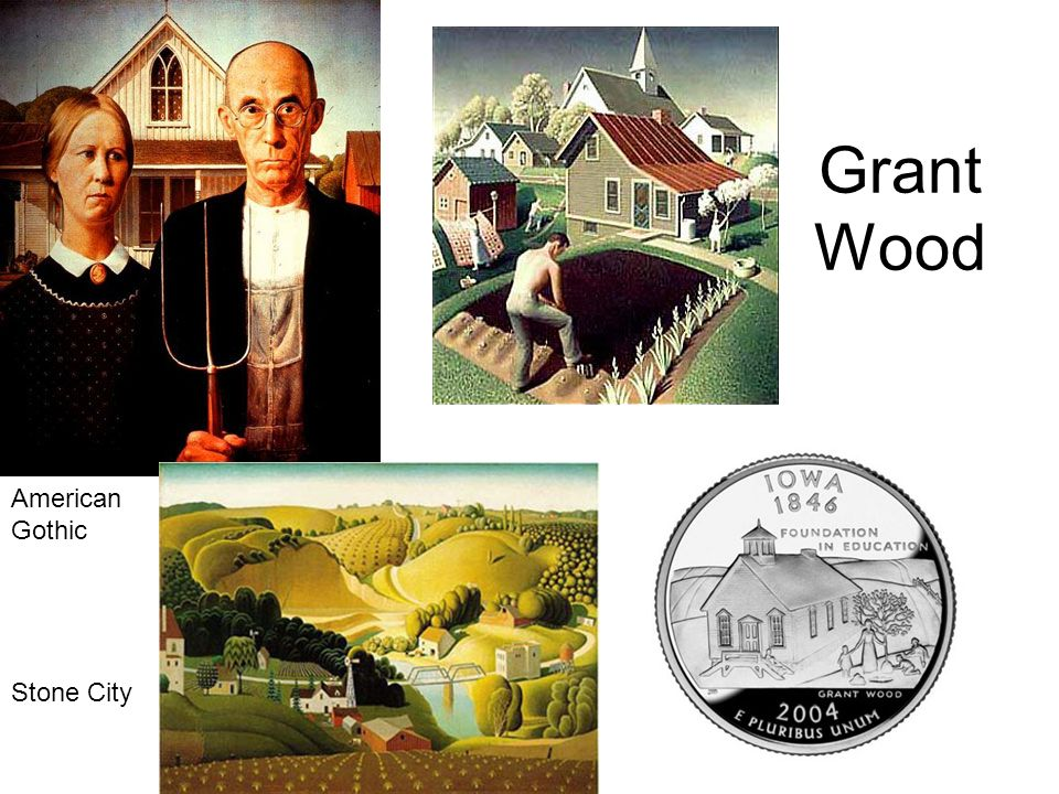 Grant Wood American Gothic Stone City