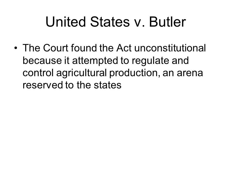 United States v. Butler