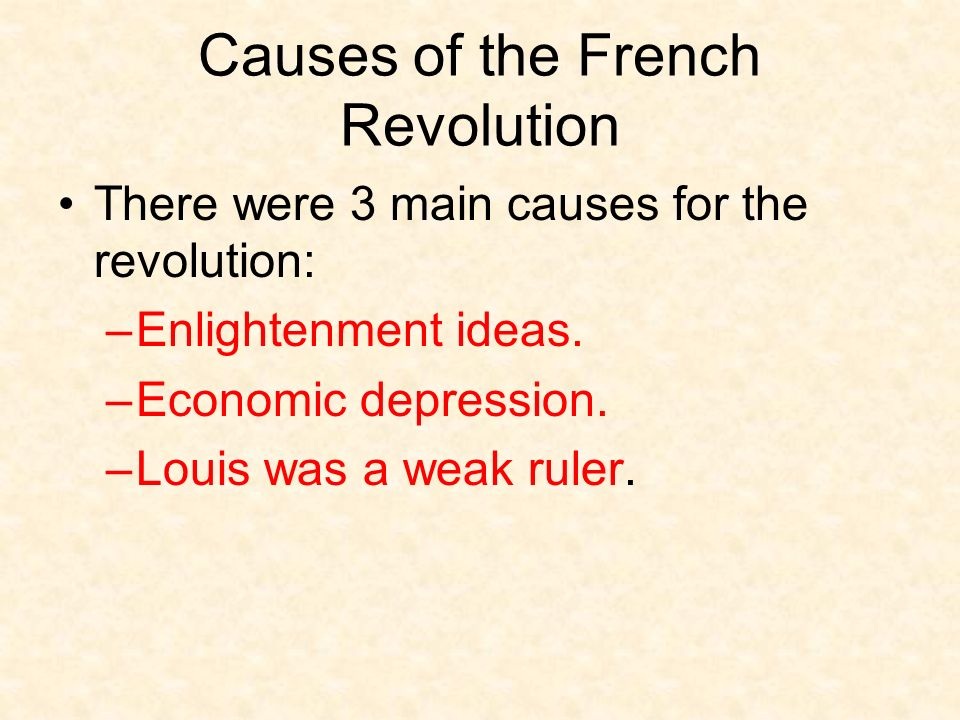 french revolution major causes So what is the truth as one of the cause of french revolution  the french,  marie antoinette has had a major impact on french history but, most importantly, .