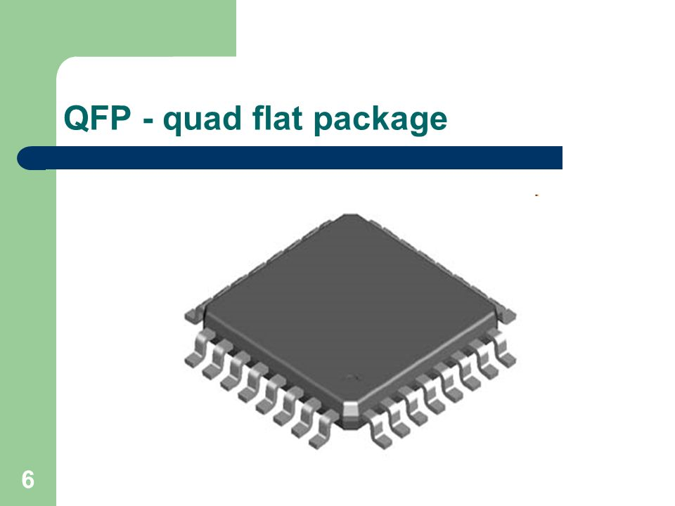 Quad flat package
