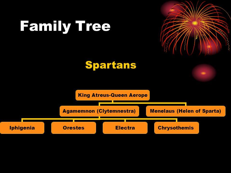 Family Tree Spartans