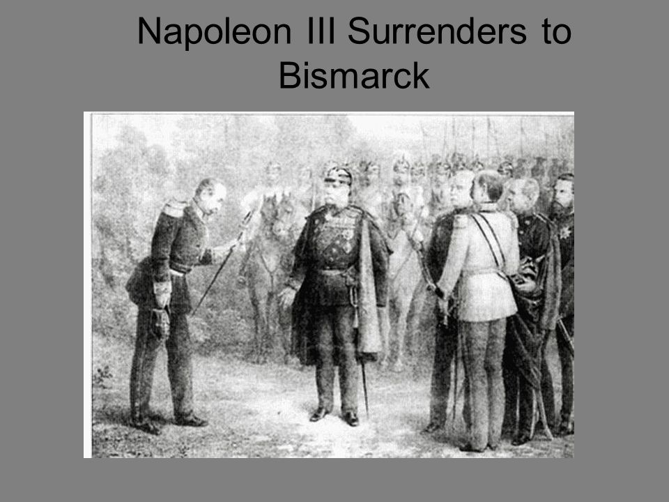Napoleon III Surrenders to Bismarck