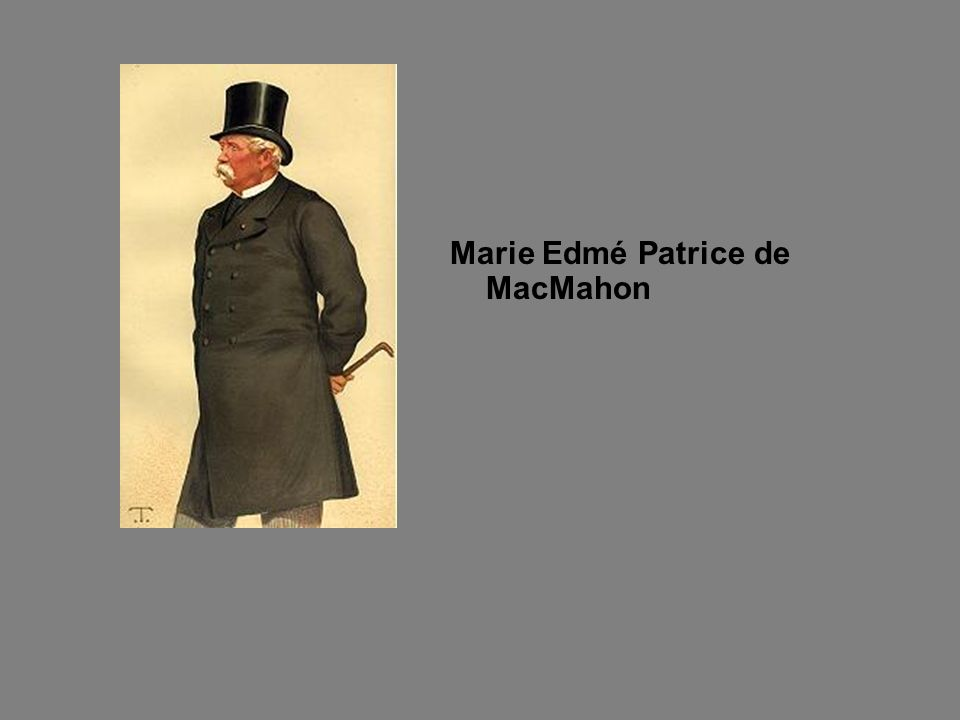 Marie Edmé Patrice de MacMahon