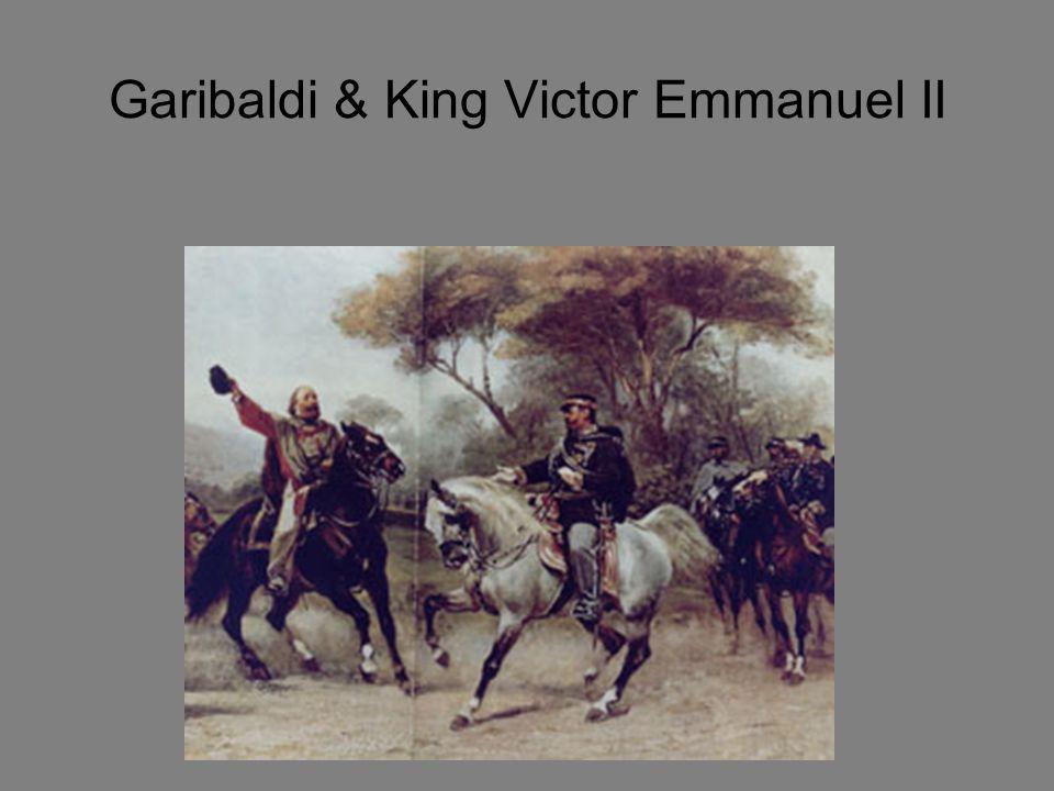 Garibaldi & King Victor Emmanuel II