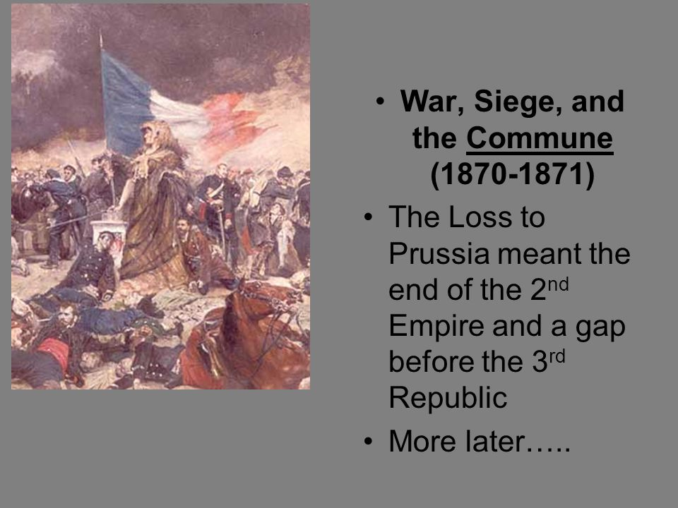 War, Siege, and the Commune (1870-1871)