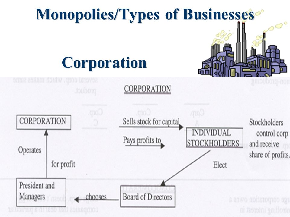 Monopolies/Types of Businesses