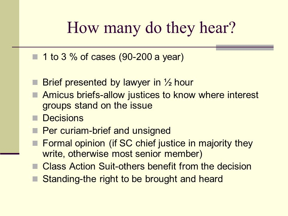How many do they hear 1 to 3 % of cases ( a year)