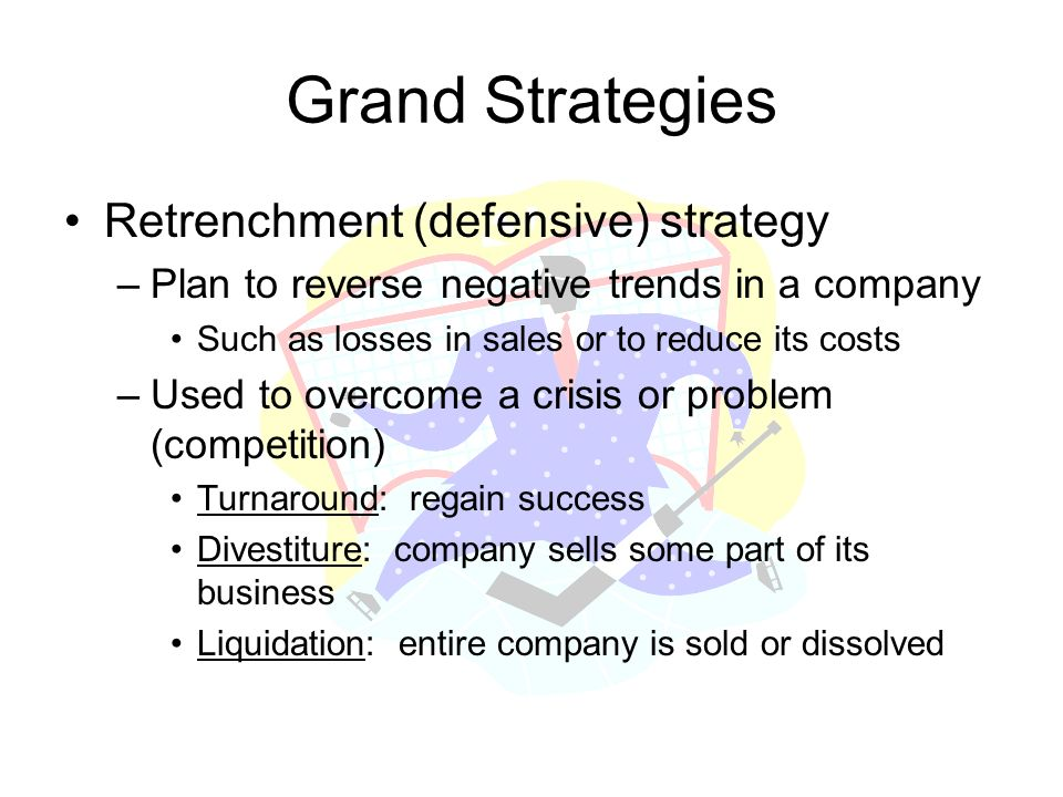 Grand Strategies Retrenchment (defensive) strategy