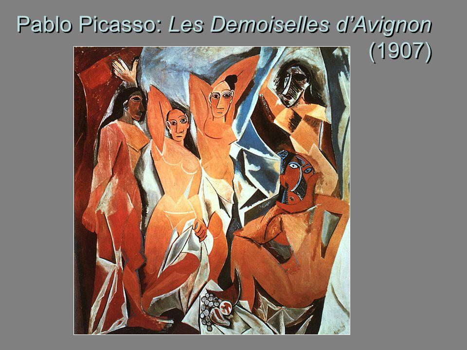 Pablo Picasso: Les Demoiselles d'Avignon (1907)