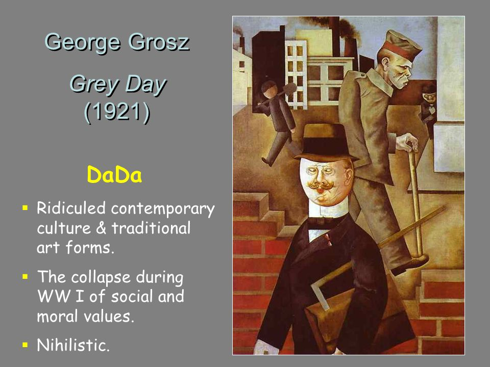 George Grosz Grey Day (1921) DaDa
