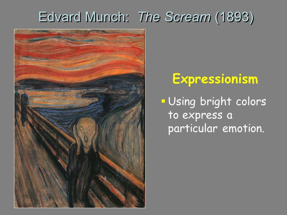 Edvard Munch: The Scream (1893)