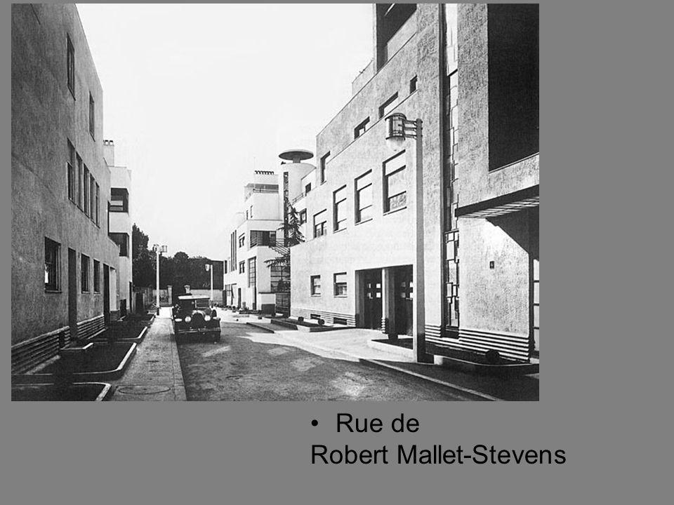 Rue de Robert Mallet-Stevens