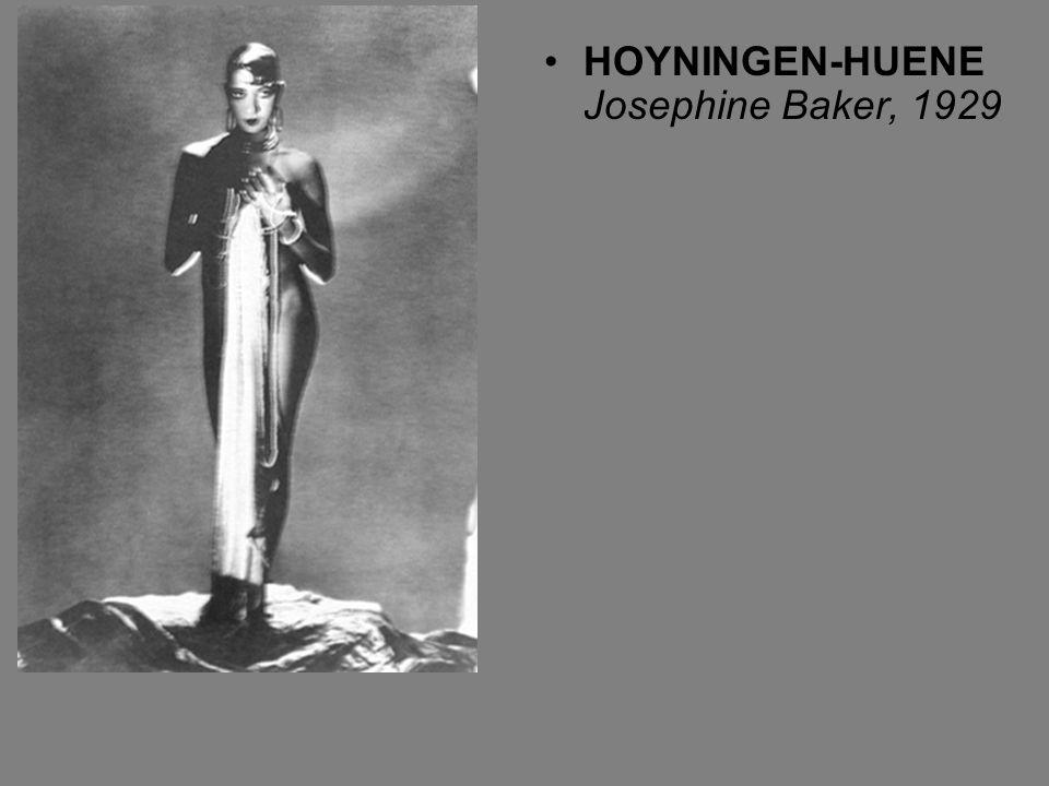 HOYNINGEN-HUENE Josephine Baker, 1929