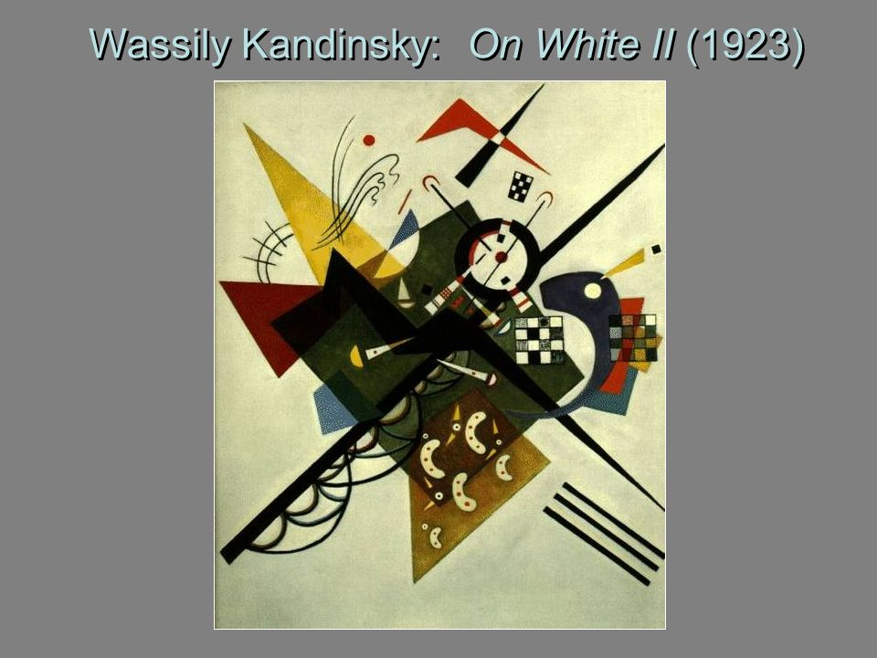 Wassily Kandinsky: On White II (1923)
