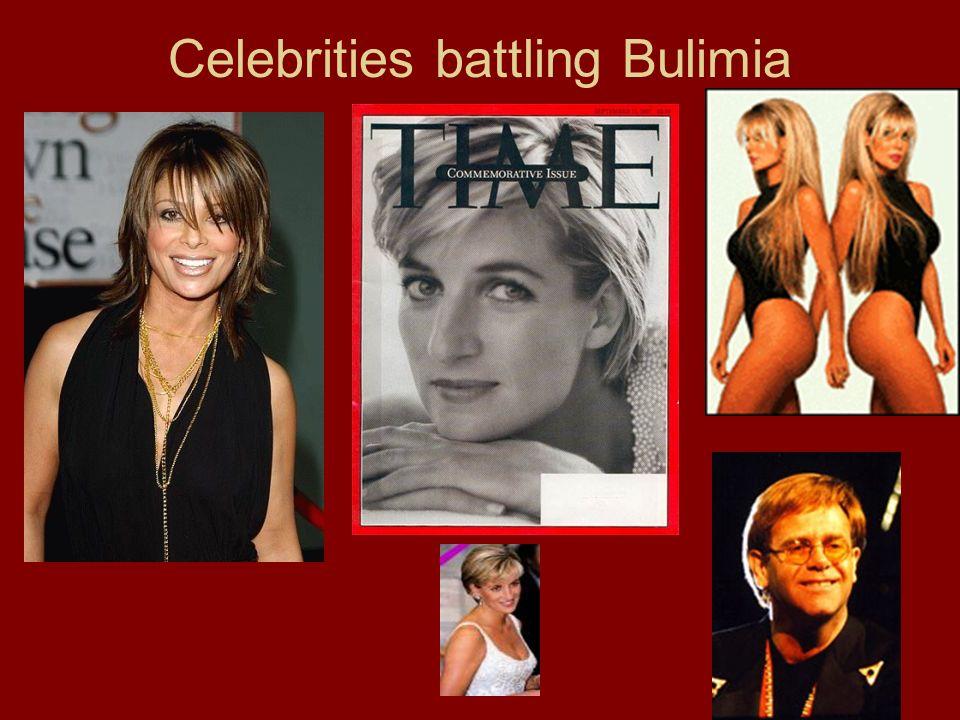 Celebrities battling Bulimia