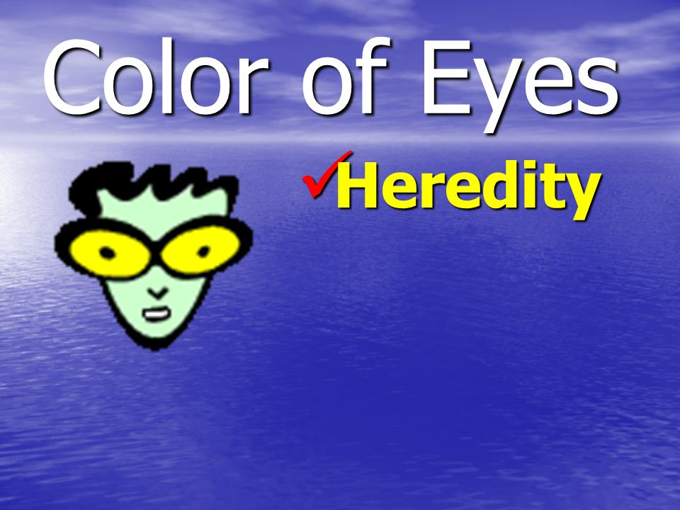 Color of Eyes Heredity