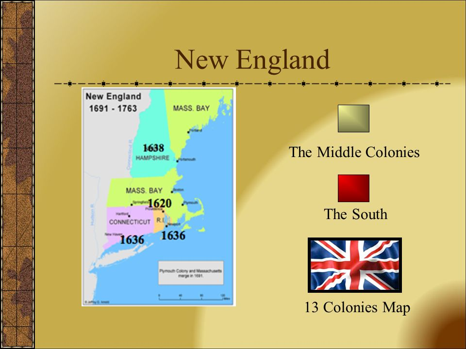 Introduction Englands Thirteen Colonies were located on the