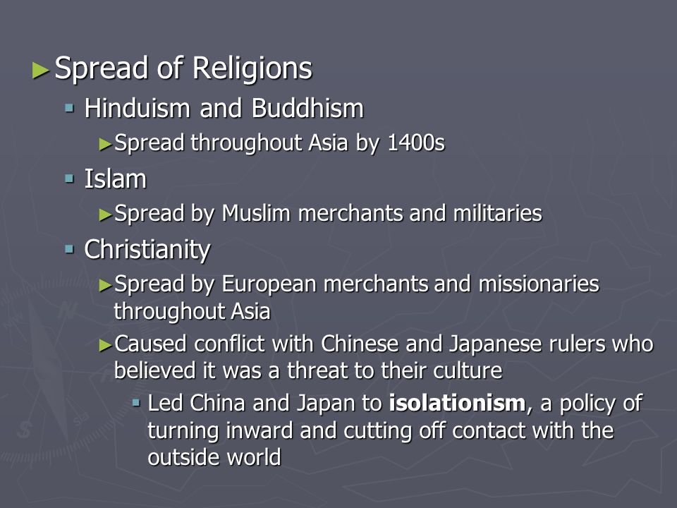 the spread of buddhism and christianity essay Free term papers & essays - the spread of buddhism and christianity, religion.