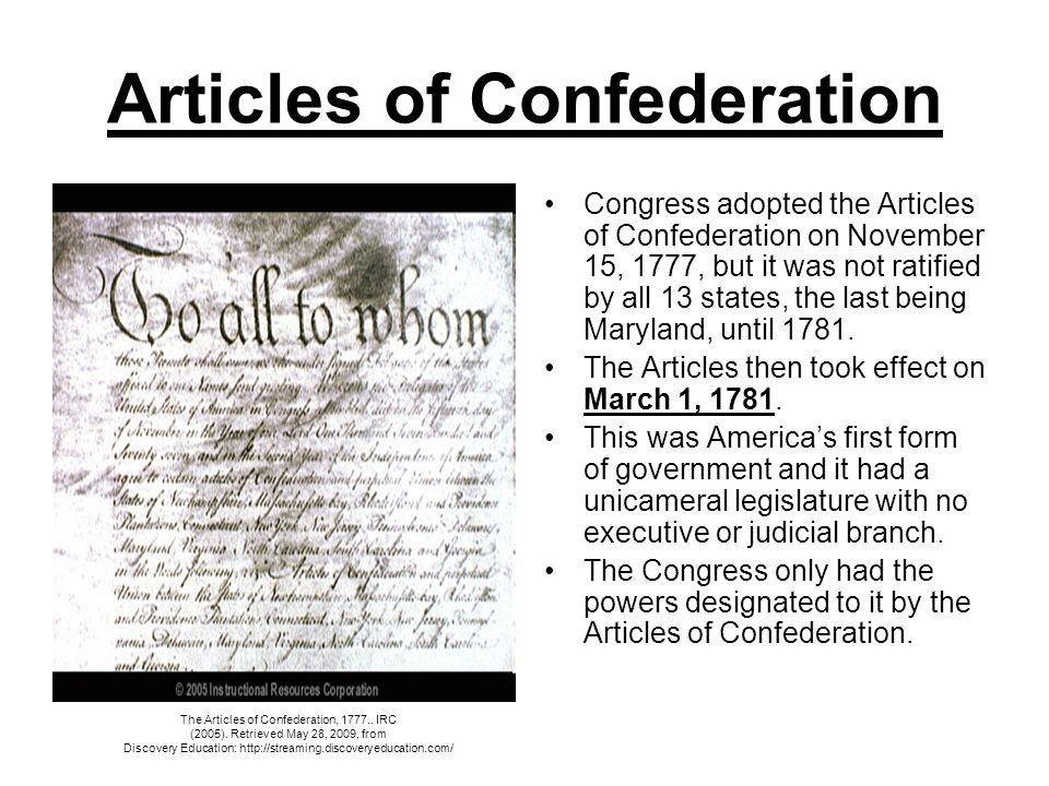 articles of confederation dbq 1985 The articles of confederation, formally named the articles of confederation and perpetual union  (1985) andrew c mclaughlin.