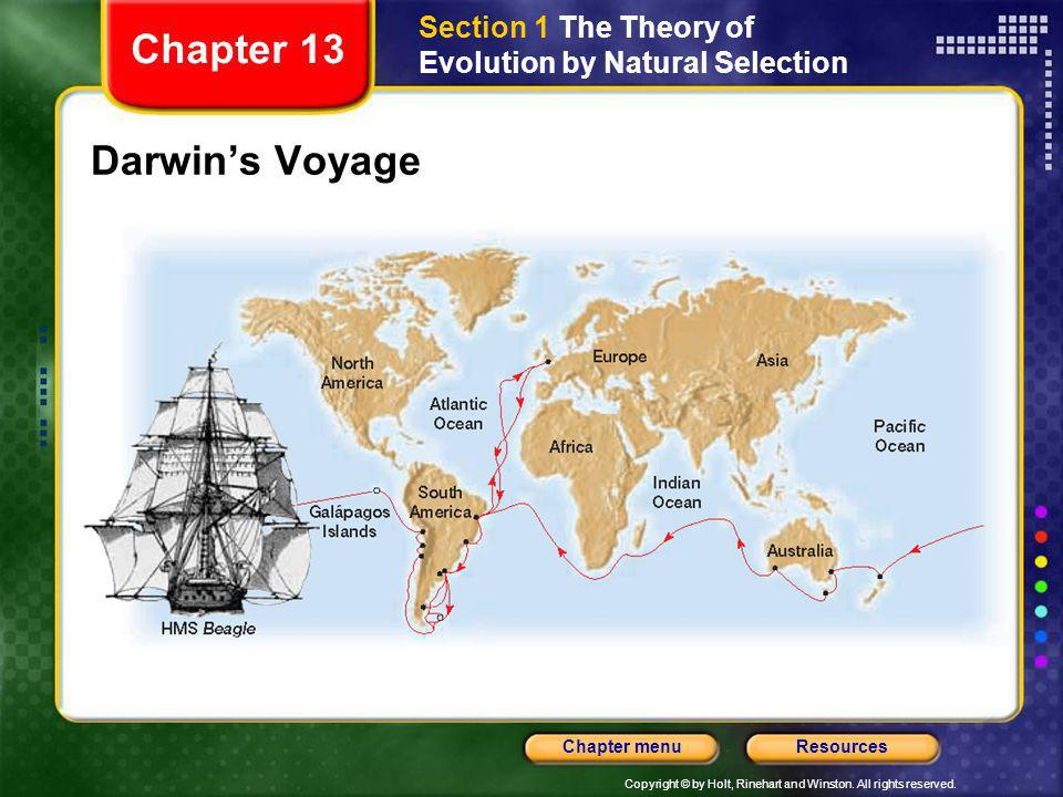 Chapter 13 Darwin's Voyage