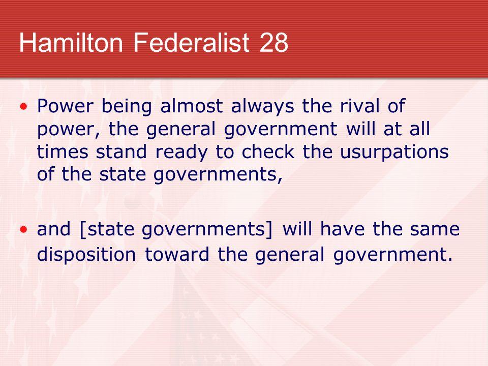 Hamilton Federalist 28