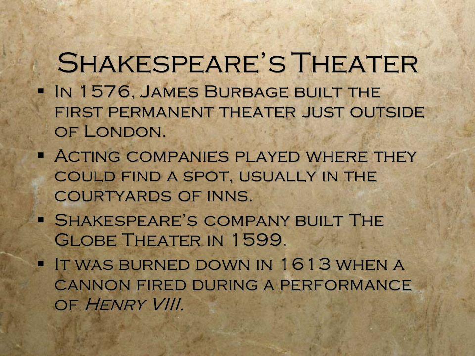 Shakespeare's Theater