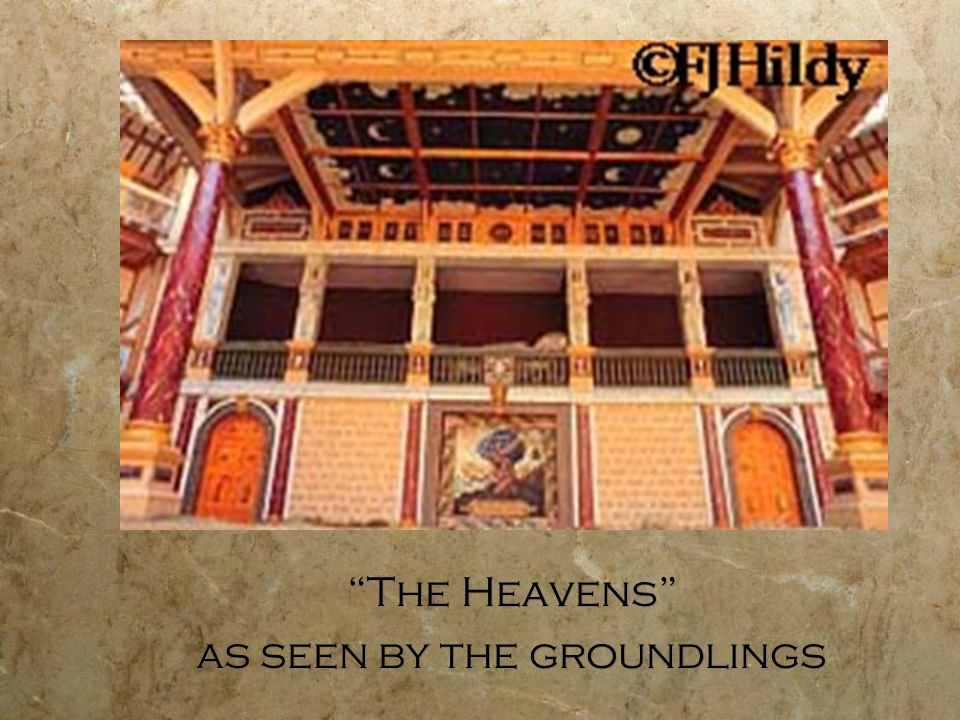 The Heavens as seen by the groundlings