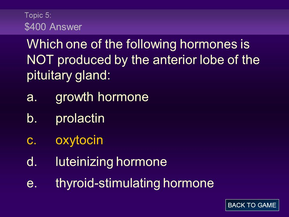 e. thyroid-stimulating hormone