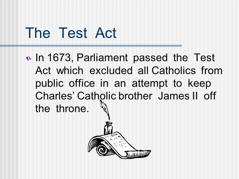 The Test Act