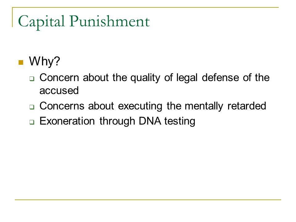 Capital Punishment Why